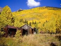 Montanhas cénicos EUA de Colorado da queda Fotos de Stock