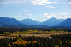Montanhas Canadá ingleses da costa Foto de Stock Royalty Free