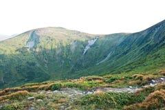 Montanhas Carpathian Fotos de Stock Royalty Free