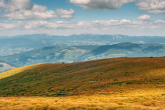 Montanhas Carpathian no verão Imagem de Stock Royalty Free