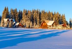 Montanhas Carpathian, Roménia foto de stock