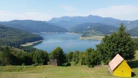 Montanhas Carpathian romenas fotos de stock royalty free