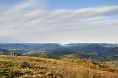 Montanhas Carpathian ucrânia fotos de stock