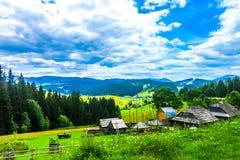 Montanhas Carpathian ucranianas 01 imagens de stock royalty free
