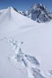 Montanhas caucasianos Imagem de Stock