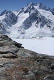 Montanhas caucasianos Foto de Stock
