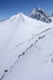 Montanhas caucasianos Fotografia de Stock