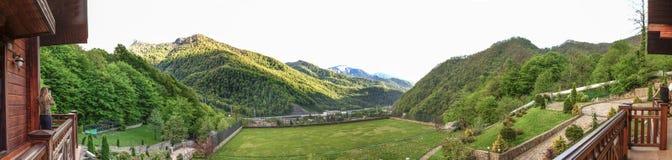 Montanhas caucasianos Foto de Stock Royalty Free