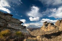 Montanhas centrais do otago Fotos de Stock