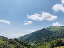 Montanhas chinesas Imagem de Stock