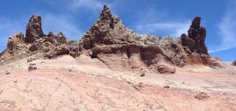Montanhas coloridas Imagem de Stock Royalty Free