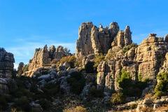 Montanhas coloridas Fotografia de Stock Royalty Free