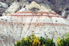 Montanhas coloridas de Utá, EUA no recife do Capitólio fotos de stock royalty free