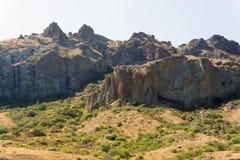 Montanhas crimeanas Fotografia de Stock Royalty Free