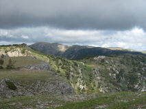 Montanhas crimeanas Fotografia de Stock