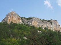 Montanhas crimeanas, Ucrânia Imagens de Stock