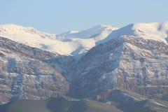 Montanhas da areia fotos de stock royalty free