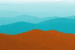Montanhas da esfera do injetor ilustração do vetor