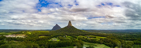 Montanhas da estufa Foto de Stock Royalty Free