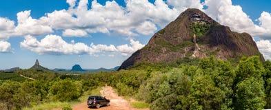 Montanhas da estufa Foto de Stock