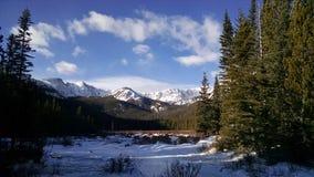 Montanhas da mamã Imagem de Stock
