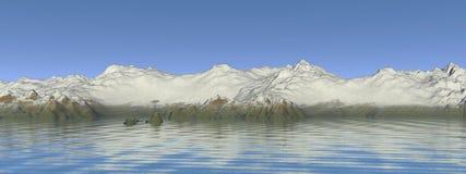 Montanhas da paisagem ilustração stock