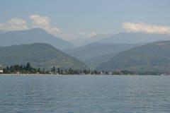 Montanhas da paisagem da Abkhásia Foto de Stock Royalty Free
