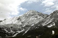 Montanhas da passagem de Rohtang imagem de stock