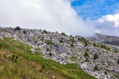 Montanhas da pedra calcária Foto de Stock