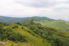 Montanhas da vila da imagem Foto de Stock Royalty Free