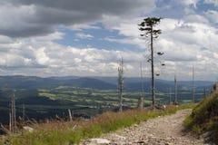 Montanhas da vista Imagens de Stock Royalty Free