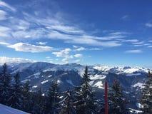 Montanhas de Áustria Imagem de Stock Royalty Free