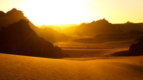 Montanhas de Akakus (Acacus), Sahara, Líbia Foto de Stock Royalty Free