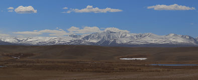 Montanhas de Altai Paisagem bonita das montanhas Rússia Foto de Stock