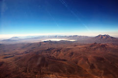 Montanhas de Andes Imagens de Stock Royalty Free