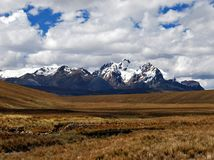 Montanhas de Andes Fotos de Stock Royalty Free