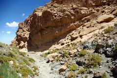 Montanhas de Andes, o Chile fotos de stock royalty free