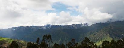 Montanhas de Andes, Peru Travel, panorama fotos de stock royalty free