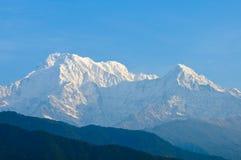 Montanhas de Annapurna, Nepal fotografia de stock