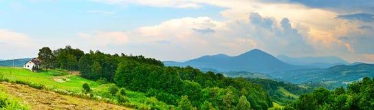 Montanhas de Bósnia e de Herzegovina Foto de Stock Royalty Free