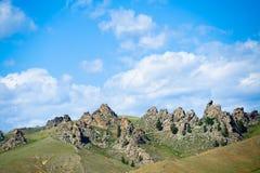 Montanhas de Baikal em Suvo Foto de Stock
