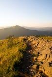 Montanhas de Bieszczady Imagens de Stock Royalty Free