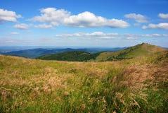 Montanhas de Bieszczady, Polonina Wetlinska Imagens de Stock Royalty Free