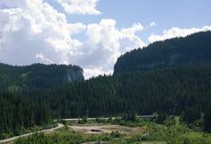 Montanhas de Bucegi Foto de Stock