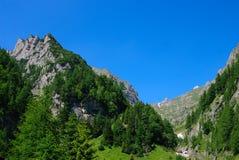 Montanhas de Bucegi, Romania Imagem de Stock