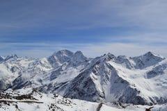 Montanhas de Cáucaso Fotografia de Stock