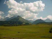 Montanhas de Cáucaso Imagens de Stock Royalty Free