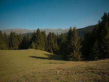 Montanhas de Cáucaso imagens de stock