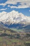 Montanhas de Cáucaso, Svaneti Foto de Stock Royalty Free