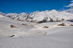 Montanhas de Cáucaso, Svaneti Imagens de Stock Royalty Free